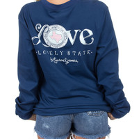 Lauren James Long Sleeve Tee- Texas Love
