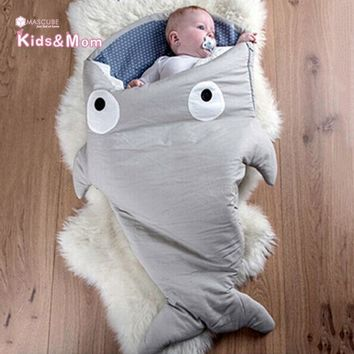 PEAPUNT Hot Sale Baby Blankets Newborn Animal Shape Infant Swaddle Sleeping Bag Baby Bedding Envelope for Newborns Mermaid Tail Blanket