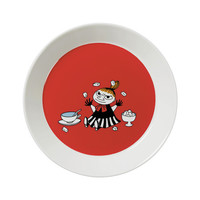 Moomin Plate - Little My Red from Iittala