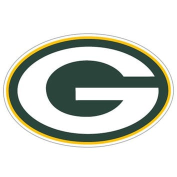 Green Bay Packers NFL Diecut Window Film