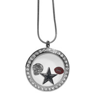 Dallas Cowboys Locket Necklace FLOC055