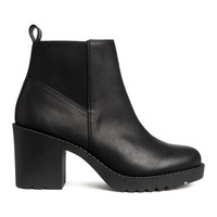 H&M Ankle Boots $34.99