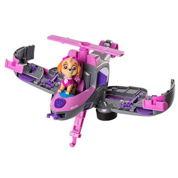 Paw Patrol dog Flip Fly Vehicle toys Can Have Fun With This 2-in-1 Vehicle Transforming From Bulldozer to a Jet Kids