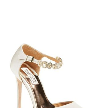 Women's Badgley Mischka 'Pia' Ankle Strap Pump,