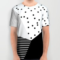 Geometry Blocks 10 All Over Print Shirt by Mareike Böhmer Graphics