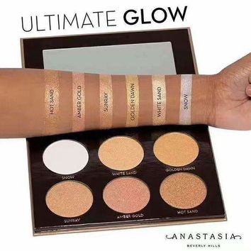 ONETOW Anastasia Glow Kit Ultimate 6 Colors Makeup [11891734607]
