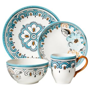 Threshold™ 16 Piece Bridgeport Gardens Dinnerware Set