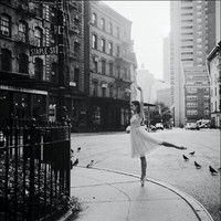 ballet, black and white, cute, dancing, girl - inspiring picture on Favim.com