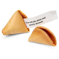 ThinkGeek :: Cookie Misfortune Evil Fortune Cookies