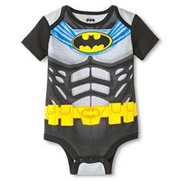 Baby Boys' Batman Bodysuit - Black