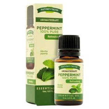 Nature's Truth Aromatherapy Peppermint Essential Oil - 15 mL