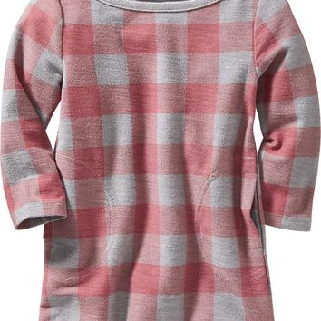 Old Navy Buffalo Plaid Dress For Baby