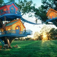 tree house FOLLOW ME