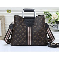 LV Best-selling Fashion Ladies'Printed Color Shopping Bag