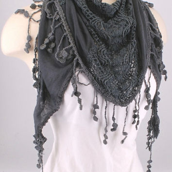 Best Crochet Triangle Scarf Products On Wanelo