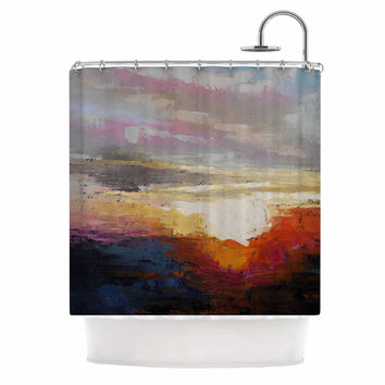 "Carol Schiff ""Georgia Morning"" Multicolor Nature Shower Curtain"