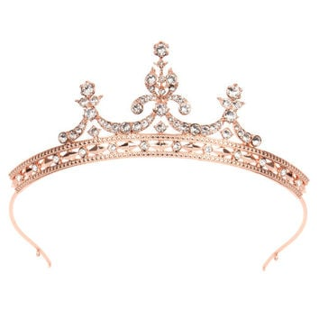 Crystal tiara - Rose Gold | Jewellery | Ted Baker UK