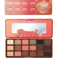 TWO FACED EYESHADOW PALETTE 18 COLORS SWEET PEACH