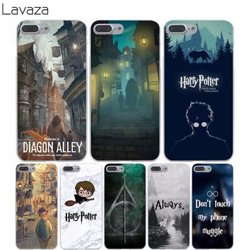 Lavaza 857X Harry Potter Welcome to Diagon Hard Transparent Cover Case for iPhone 7 7 Plus 6 6S Plus 5 5S SE 5C 4 4S 6splus