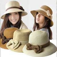 Summer Beach Korean Butterfly Hats [10136603847]