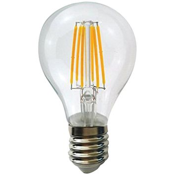 Sleek Lighting 6-watt Dimmable Led Filament Light Bulb A19