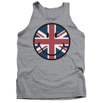 Smiley World - Union Jack Face Adult Tank