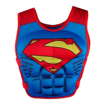 Batman Dark Knight gift Christmas new life jacket vest Superman batman spiderman swimming baby boys girls fishing superhero swimming circle pool accessories ring AT_71_6