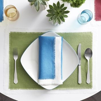 Farrell Placemats & Napkins by Sferra