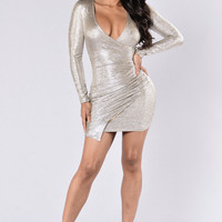 To Die For Dress - Champagne
