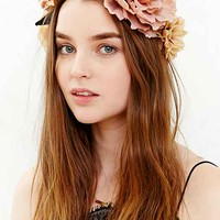 Watercolor Flower Crown- Neutral One