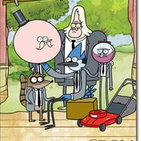 Regular Show Poster 22x34 RP5852  UPC017681058527 Cartoon TV Show