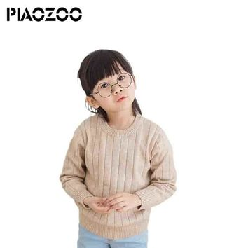 Girls sweater knit boys winter tops kids baby unisex pullover sweaters clothes big girls fall clothing size 12 P20