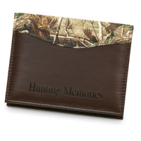 CAMO LEATHER Hunting Memories Album