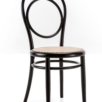 A14 Cane Seat Circle Back Bentwood Side Chair by GTV