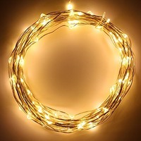 Hikong 6M * 3M 600 LED Christmas Outdoor Party Xmas Festival Fairy String Wedding Curtain Light 110V 8 Modes for Holiday Decoration Lighting (Warm White)