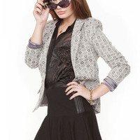 Sugarlips Heather Kaleidoscope Blazer