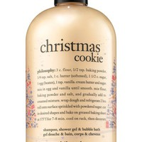 philosophy christmas cookie shampoo, shower gel & bubble bath (Limited Edition) | Nordstrom