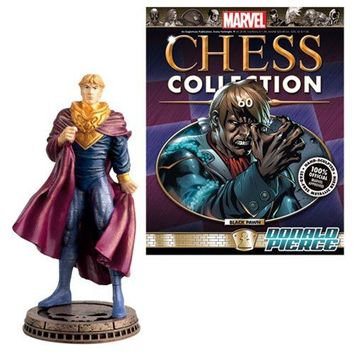 Marvel Characters Pawn Chess Piece with Collector Magazine