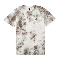 HUF - CRYSTAL WASH SCRIPT TEE SP15 // LIGHT GRAY