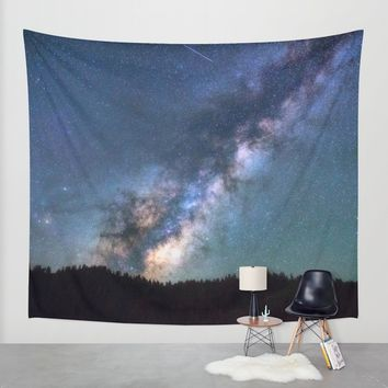 Milky Way Wall Tapestry by Gallery One
