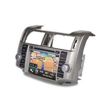 CASKA® Outlet 8 Inch Touch Screen Car DVD Player Support GPS Navigation For Toyota 4RUNNER Car In-dash System Built In NXP Radio Modules Built In NAV With Sygic Map Version 2013