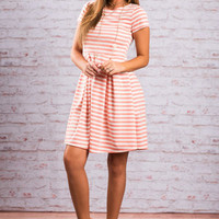 Purely Perfect Dress, Grapefruit