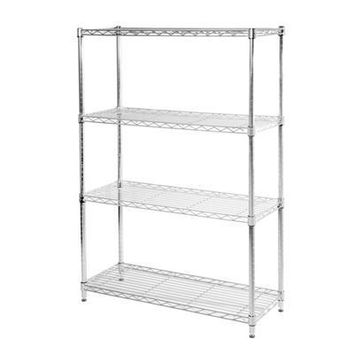 Steel Wire Shelving Nsf 4 Tier