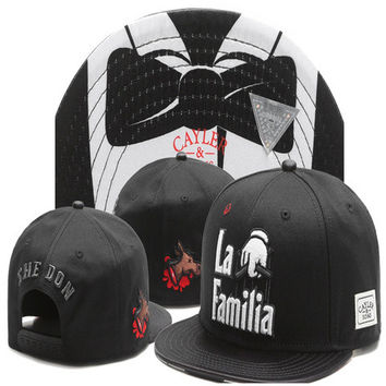 CAYLER AND SONS LA FAMILIA SNAPBACK HAT