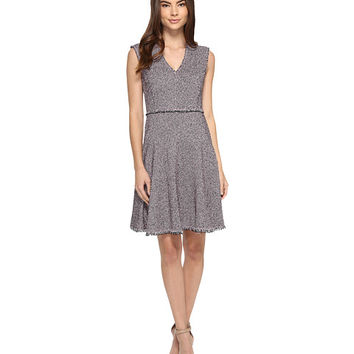 Rebecca Taylor Sleeveless Stretch Tweed Dress Pink/Navy - Zappos.com Free Shipping BOTH Ways