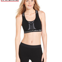 Calvin Klein Performance Reversible Racerback Sports Bra