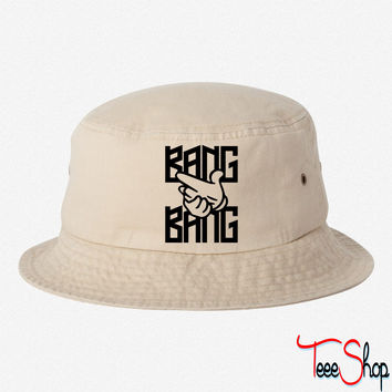 Bang Bang bucket hat