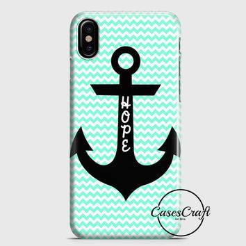 Hope Anchor iPhone X Case | casescraft