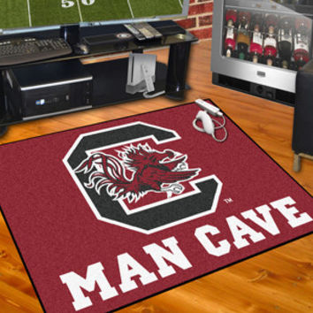 "University of South Carolina  Man Cave All-Star Mat 34""x45"""