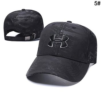 Under Armour Summer Trending Embroidery Sports Sun Hat Baseball Cap Hat 5#